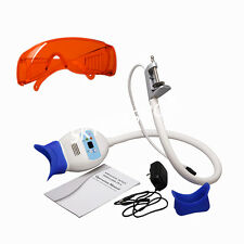 Dental Teeth Whitening System Bleaching Accelerator LED Light Lamp + Goggle ES