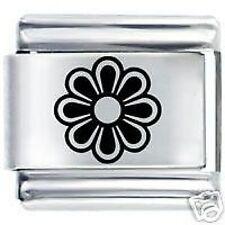 DAISY FLOWER - 9mm Daisy Charms by JSC Fits Classic Size Italian Charm Bracelet