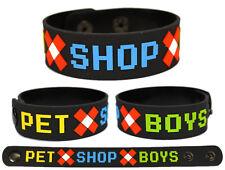 PET SHOP BOYS Rubber Bracelet Wristband Fundamental Elysium Electric
