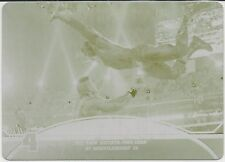 2013 Topps WWE The Rock John Cena At WrestleMania 28 Yellow Printing Plate 1/1