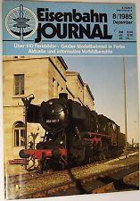 Eisenbahn Journal 8/1985 Diciembre, de Águila para Ice