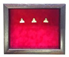 Medium Fire Brigade  Regimental Medal Display Case for 3 Medals