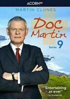 Doc Martin Season 9 DVD Series (3-Disc)  Free Shipping Included New & Sealed