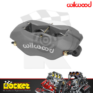 Wilwood Dynalite Forged 4 Piston Caliper GREY 1.38 Bore - WB120-6806
