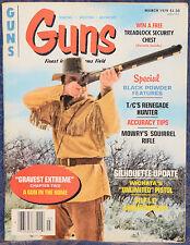 Magazine *GUNS* March, 1979 ! DIXIE Derringer !, *T/C Renegade Flintlock RIFLE*