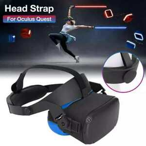 GOMRVR Adjustable halo Strap for Oculus Quest VR Comfort Foam Pad Strap,
