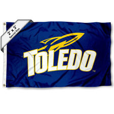 University of Toledo Rockets 2'x3' Flag