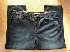 MARKS AND SPENCER MENS STRAIGHT LEG JEANS WASIT 44 LENGTH 27 BRAND NEW