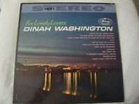 DINAH WASHINGTON FOR LONELY LOVERS VINYL LP MERCURY RECORDS YOU TAUGHT ME, VG+