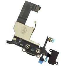 Headphone Jack and Lightning Connector Replacement For iPhone 5 Black UK Stock