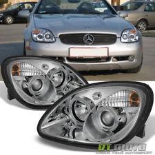 1998-2004 Mercedes Benz R170 Slk230 Slk200 Slk320 Led Halo Projector Headlights (Fits: Mercedes-Benz)