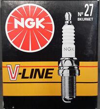4X NGK V-Line 27 BKUR6ET 5461 Bujía Fiat Lancia Seat VW Polo 6n1 #