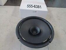 """MCM Dual Cone Speaker #555-6381 8"""" Diameter 16.5 KHZ #QC04 090715 8 Ohm (NIB)"""