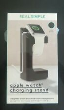 Real Simple Apple Watch Charging Stand - White