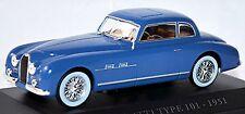 Bugatti Tipo 101 Coupé 1951 gangloff-karosserie azul azul 1:43