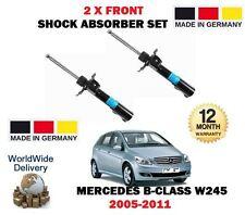 FOR MERCEDES B150 B160 B170 B180 B200 CDI 2005-2011 2x FRONT SHOCK ABSORBER SET