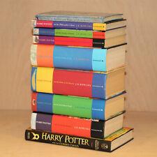 Harry Potter Complete 1-7 Book Set & Extras Bundle - JK Rowling - Bloomsbury