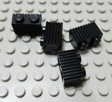 New LEGO Lot of 4 Black 1x2 Grill Profile Brick Parts and Pieces Creator House