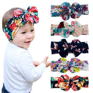 LollipopHouse Floral Baby Headband Flowers Baby Headwrap Eva Head Wrap AU STOCK