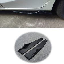 ABS Polyurethane Car Side Skirt Rocker Splitters Wings Canard Diffuser Shovel