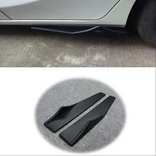 ABS Polyurethane Car Side Skirt Rocker Splitters Wings Canard Diffuser Shovel