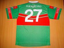 * MAYO MAIGH EO GAA Match Worn O'NEILLS GAELIC SHIRT ALL IRELAND Footbal Hurling