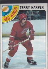 1978-79 TOPPS HOCKEY TERRY HARPER #214 RED WINGS NMMT *54886