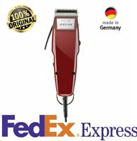 Moser 1400 Hair Clipper Professional Barber Classic Corded red Raststellen 220V