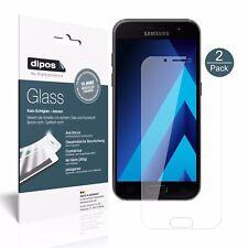 2x Samsung Galaxy A5 (2017) Protector de Pantalla Vidrio Flexible Cristal