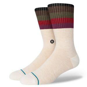 STANCE MALIBOO SOCKS.NEW OFF WHITE ARCH SUPPORT CUSHIONED SIZE UK 6 - 16 W21