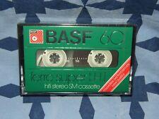CASSETTE K7 AUDIO TAPE BASF 60 SUPER FERRO LHI NEUF NEW vintage Germany 2x30mn