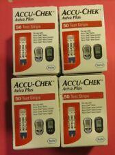 4 boxes of Accu-Chek Aviva Plus test strips 50 - Exp. 09-30-2018