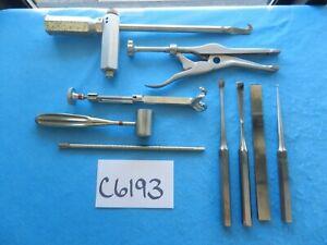 Sklar Zimmer Surgical Orthopedic Instruments