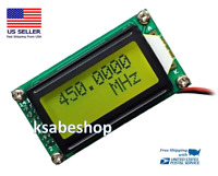 DC 9-12V 1MHz-1.2GHz RF Frequency Counter Tester Signal Cymometer Meter Digital