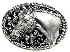TESTA di Cavallo Fibbia della Cintura American Western a tema Autentico C & J Fibbie prodotto