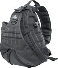 Maxpedition Monsoon GearSlinger 0410B Black. Large size single shoulder pack wit
