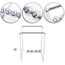 Newtons Cradle Steel Balance Ball Fun Home Decoration Physics Science Toy Gift