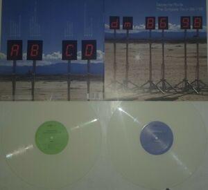2× Lp Color VINYL Depeche Mode - The Singles TOUR 86-98 /  Nirvana Cure