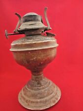 Large Old Antique Oil Wick Iron Kerosene lamp Vintage India Tribal Collectible