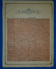 1914 Plat Map ~ Twp. #20N NEWMAN GROVE - PLATTE Co. NEBRASKA Genealogy Ancestry