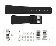 CASIO WATCH BAND:  70378364   BAND FOR DBC-62 Black Resin Band