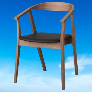 *New* STOCKHOLM Chair walnut 204.337.19 *Brand IKEA*