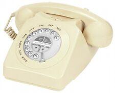 Vintage Telephone Home Corded Telephones Landline Retro Antique Rotary Old Phone