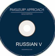 Pimsleur Russian V Level 5 (Five) 16 CDs 30 Units