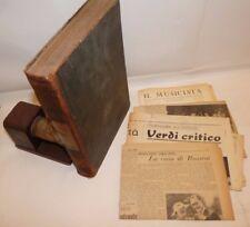 MUSICA - SCHMIDL, C.: DIZIONARIO UNIVERSALE dei MUSICISTI 1887 Ricordi +Estratti