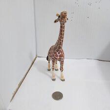 Schleich Male Giraffe Eating 14389 Retired