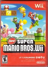 New Super Mario Bros. Wii - Original Print [Nintendo Wii, Red Case, Platformer]