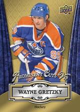 Wayne Gretzky Oilers HOF 2016 UD National Convention Prominent Cuts VIP PROMO