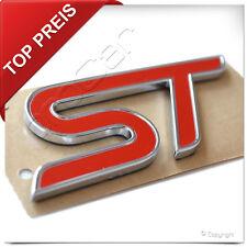 "⭐️ Original Ford Aufkleber Emblem "" ST "" Schriftzug Abzeichen Logo Selbstklebend"
