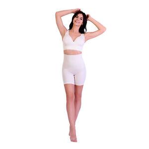 SANKOM Patent Organic Cotton Support Posture Bra Wire Free Seamless White - S/M